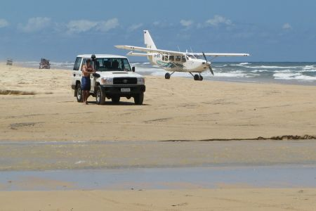 Getting about on Fraser Island