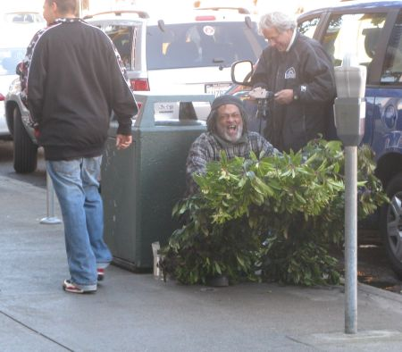 World Famous Bushman in San Francisco