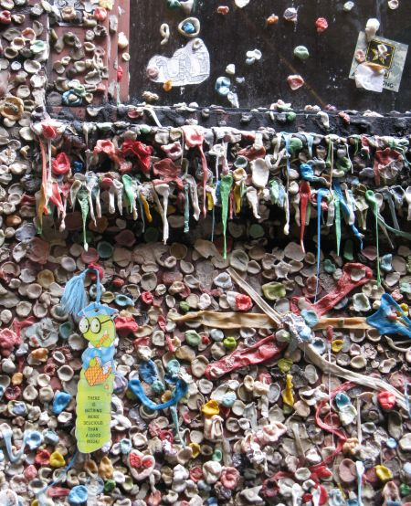 Gum Wall in Seattle