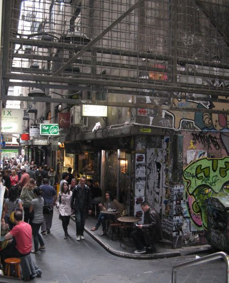 The alleyways of Melbourne