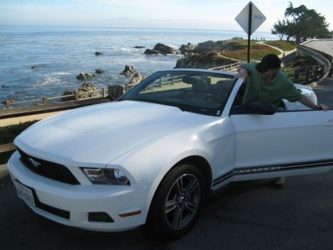 Driving a Mustang from San Francisco to LA
