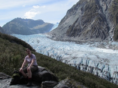 Climbing Fox Glacier, New Zealand