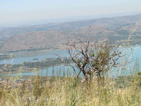 Hartbeespoort Dam and Magaliesberg, South Africa