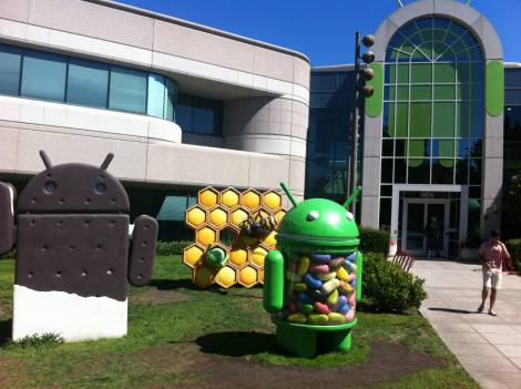 Google Android building